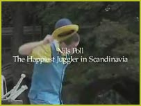 Watch a video with Nils Poll * The Fastest Juggler In Scandinavia
